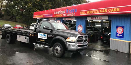 Local Marietta towing services