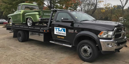 Local Marietta towing